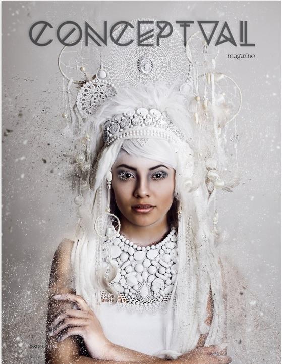 Conceptual Magazine Cover & Feature