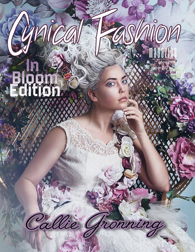 Cynical Fashion Magazine Cover & Feature