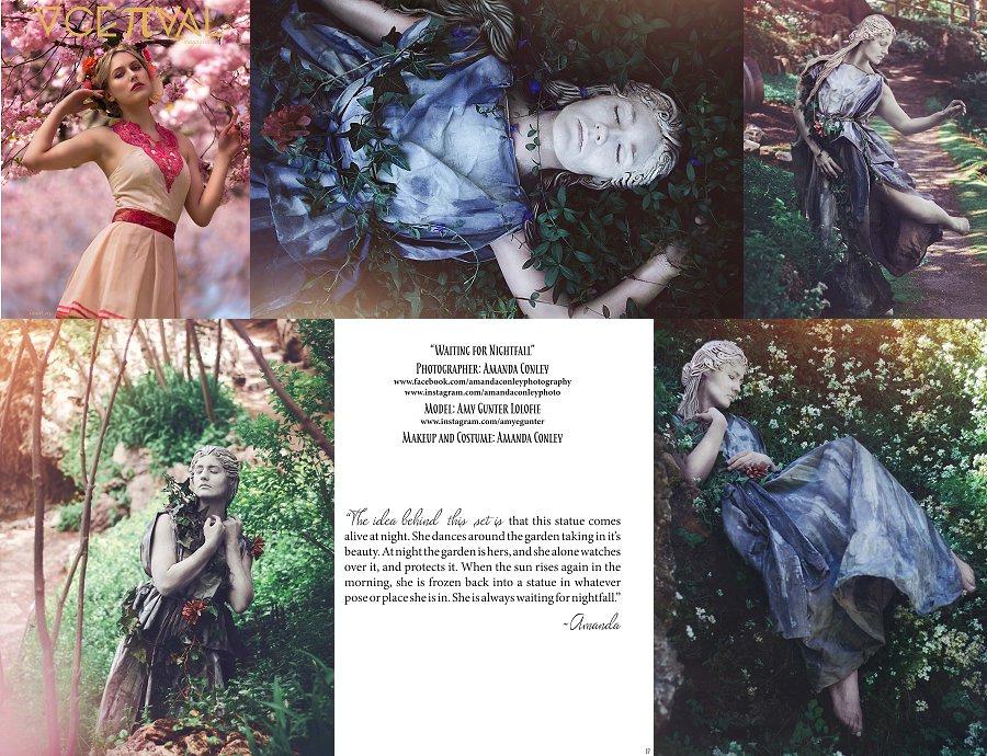 Conceptual Magazine 6th issue- 5 pg. spread